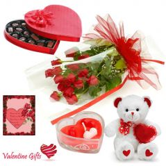 Valentine Gifts   Gift Hampers - Lovely Valentine