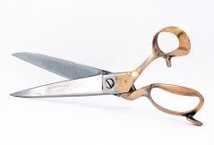 "Shalimar Scissors - 11"" Inches Brass Handle Professional Tailoring Scissors"