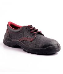 Wild Bull Red Power Leather Safety Shoes
