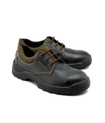 Wild Bull Power Leather Safety Shoes