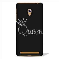 Leo Power Beautiful Queen Crown Printed Case Cover For Asus Zenfone 5