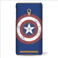 Leo Power Captain America Sheild Printed Case Cover For Asus Zenfone 5