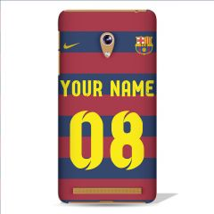 Leo Power Fc Barcelona Messi Printed Case Cover For Asus Zenfone 5
