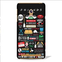 Leo Power Friends The Tv Series Printed Case Cover For Asus Zenfone 5