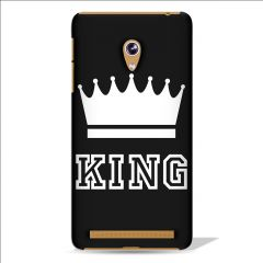 Leo Power King Crown Printed Case Cover For Asus Zenfone 5