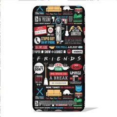 Leo Power Friends Tv Series Printed Case Cover For Asus Zenfone Selfie