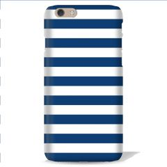 Leo Power Blue Stripe Printed Back Case Cover for Sony Xperia T3