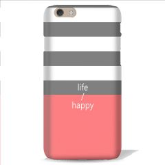 Leo Power Life Happy Printed Back Case Cover for Sony Xperia T3