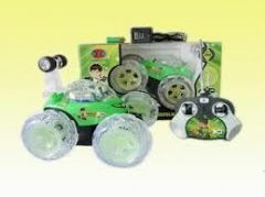 Ben 10 Car With Stunt Light And Music