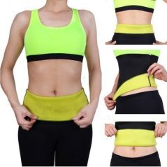 Health & Fitness - Hot Shaper Tummy Slimmer Belt Neoprene For Male And Female