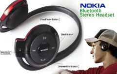 nokia Mobile Accessories - Nokia BH-503 Wireless Bluetooth Stereo Headset Bh503 Bh 503