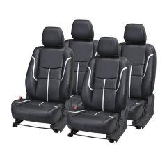 Pegasus Premium Duster Car Seat Cover - (Code - DUSTER_Black_Silver_prime)