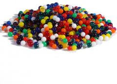 Colorful Magic Crystal Water Jelly Mud Soil Beads Balls-Mixed Color;12 Bag