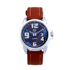 Shostopper Bluish Navy Blue Dial Analogue Watch For Men (Product Code - SJ60002WM)