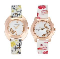 Shostopper Vintage Collection Combo Watches for Womens ( Code - SJ313WCB110 )