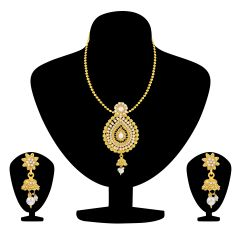 Shostopper Traditional Necklace Set / Pendant Set with Earrings for Women SJ4022