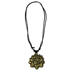 Men Style Sun Shape Om  Gold  Sun Shape Pendant For Men And Women (Product Code - SPn08001)