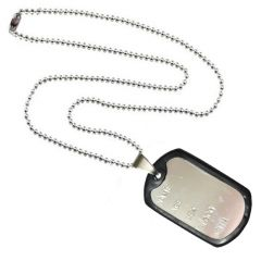 Men Style Name Silver 316 L stainless Steel Square Pendant For Men And Women (Product Code - SPn09012)