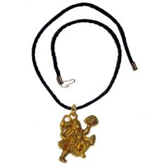 Men Style Loard Hanuman SPn09066 Gold Alloy Bajiranbali Pendant For Men And Women (Product Code - SPn09066)