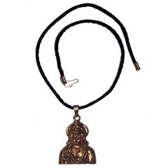 Men Style God Shree Jai Hanuman SPn09082 Brown Alloy Bajiranbali Pendant For Men And Women (Product Code - SPn09082)