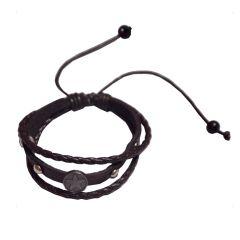 Men Style Brown  Star Design  Bracelet