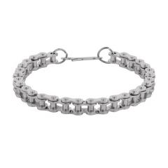 Men Style New Design Cycle Chain  Silver  Alloy Link Bracelet For Men And B