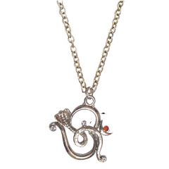 Men Style New Design Cobra Om  Silver  Alloy Snake Pendent For Men And Boys
