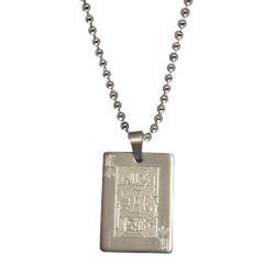 Men Style New Design King  Silver  Stainless Steel  Pendent For Men