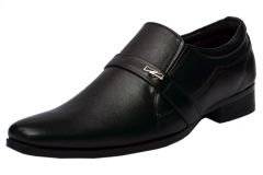 Molessi Mens Black Leather Formal Shoes - ( Code - ML15F521S_P )