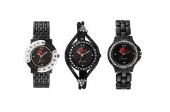 Arum All In Black Combo Of Girls Watch ANC -008