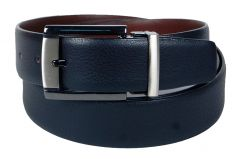PE Mens Genuine Leather Black Waist Belt - (Product Code - BL200BL_Italian)