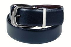 PE Mens Genuine Leather Black Waist Belt - (Product Code - BL201BL_Italian)