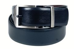 PE Mens Genuine Leather Black Waist Belt - (Product Code - BL202BL_Italian)