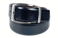 PE Mens Genuine Leather Black Waist Belt - (Product Code - BL203BL_Italian)