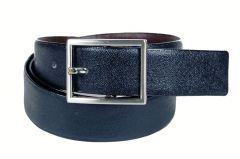 PE Mens Genuine Leather Black Waist Belt - (Product Code - BL204BL_Indian)