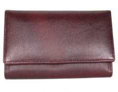 PE Womens New Designe Brown Leather Wallet