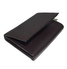 PE Mens Quality Brown PU Leather Wallet