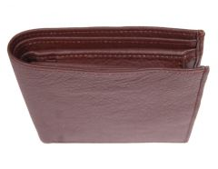 PE Mens New Arificial Brown PU Leather Wallet