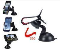 Car Accessories (Misc) - Ni Marketing Car Universal Holder Mobile Phone GPS Holder Windshield Mount Holder Dash Stand 1 PC