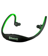 Fliptech Sport Bluetooth Neckband With Mic & Sd Card Support