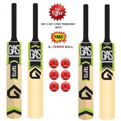 TAPTO - GAS TENNIS BAT BEST OFFER BUY 1 GET 1 FREE WITH 6 TENNIS BALL