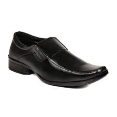 Blue-tuff Mens Formal Black Shoes - Bt-85