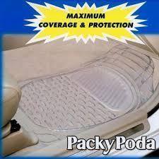 Imported Car Foot Mat Floor ,clear Colour