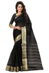 See More Self Design Black Color Art Silk Saree Mohini 3 Black