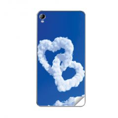 DDF Hearts Print Vinyl Back Skin For Micromax A104 Canvas Fire 2 - (Product Code - B-Skin512)