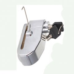Capeshoppers ALARM LOCK For TVS Victor GX 100