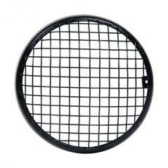 Capeshoppers Mesh Grill Black For Royal Bullet Classic Chrome