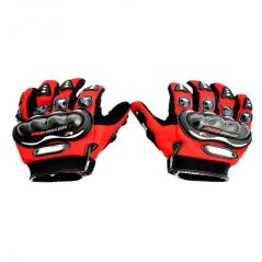CAPESHOPPERS PROBIKER Driving Gloves (XL, Red, Multicolor)