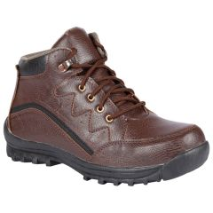 Gift Or Buy Bachini Half Ankle Boot For Men-(Code-1532-Brown)