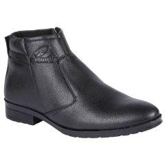 Gift Or Buy Bachini Half Ankle Boot For Men-(Code-1584-Black)